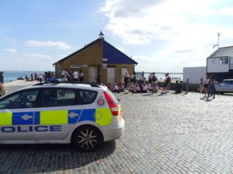 Bell Wharf police crackdown