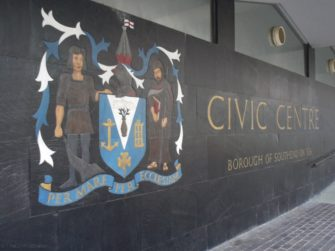 Civic Centre mosaic