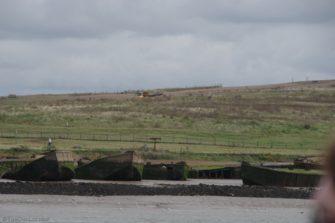 Erith Reach concrete barges