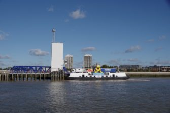 Free Ferry, North Woolwich terminal