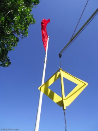 Firing warning flag