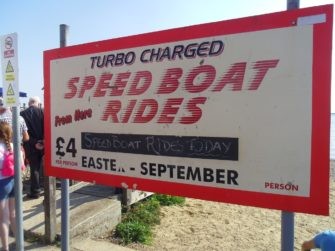 Speedboat notice